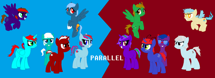 PARALLEL by GrumpyTouhoutard