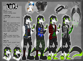 Lupe s Reference Sheet 2016 [2 part] by Wolf-Lisa