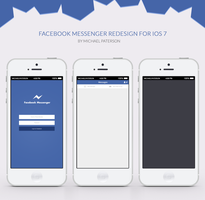 Facebook Redesign wip by Michael18893