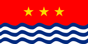 Flag of the South China/West Philippine Sea by kyuzoaoi