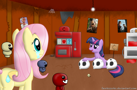 The Binding of Fluttershy - Arcade Room by FacelessSoles