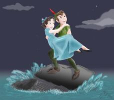 Peter and Wendy by Merice