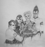 Famous Monsters. by abovemichelle