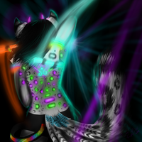 i know this pretty rave girl by TheFurryRaveStar