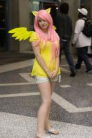 Fluttershy at Night by Stormfalcon