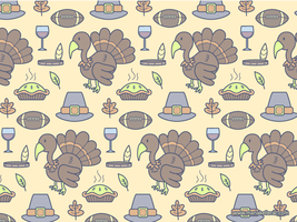 Thanksgiving Pattern by KellerAC