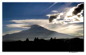 Mount Shasta by M-Coleman