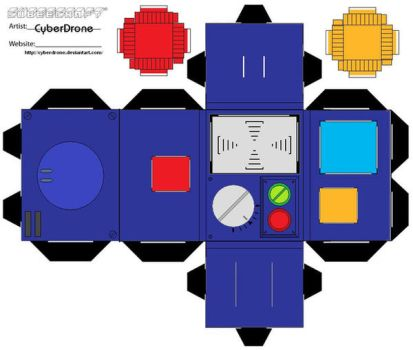 Cubee-PKE Meter 'toon' 1of2 by CyberDrone