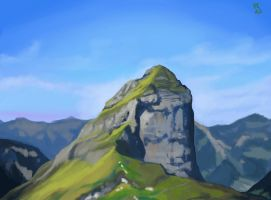 Mountain Photo Study by PonyCool42