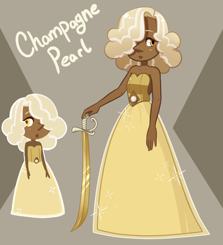 Champagne Pearl: Contest Entry by Xaika