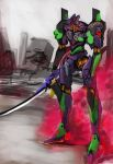 Evangelion unit 01 by BlazingChaos