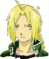 Edward Elric by CopperLetters