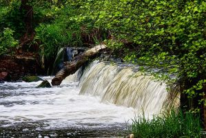 nature 0153 waterfall by remigiuszScout