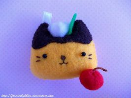 Nyanko Pudding by ForeverBubbles