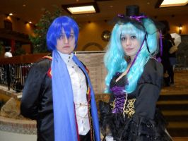 Sandplay Miku and Kaito 2 by Ms-Catastrophie