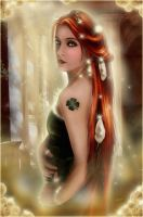 Lady Luck by wolfmorphine