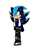Ice in sonic rider form! by Linnea-TH
