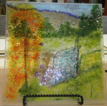 Glass Frit - McKenzie Falls by CeltCraft