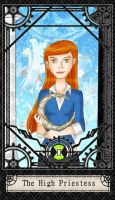Ben 10 Tarot- 2. The High Prie by CheshireP