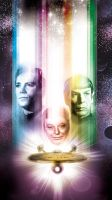 old school star trek by Artist Tom Kelly by TomKellyART