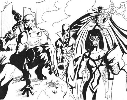 New Avangers-Inked by Havoc-16
