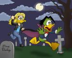 Buffy Vs. Duckula by rocketdave