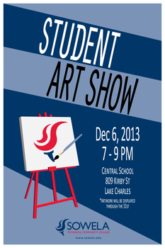 Art-show-poster by PapaJohnny