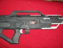 N7 Black/Chrome Reverant Rifle by Frost-Claw-Studios