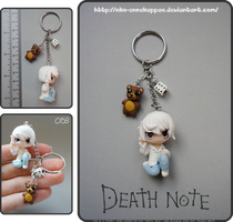 Death Note - Chibi Near keychain by Nko-ennekappao
