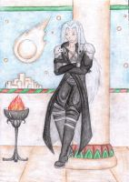 A not so evil Sephiroth by MitisFeles