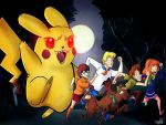 Scooby-Doo Vs Pikachu Monster by chillyfranco