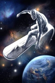 Silver Surfer by bodzi0x