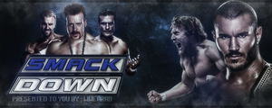 WWE SmackDown Banner by thetrans4med