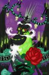 A Rose from  Xibalba by Dinogaby