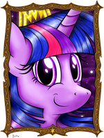 Twilight Portrait by flamevulture17