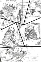 Kakashi and Anko comic scrap1 by KickBass77