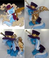 SteamPunk Princess Trixie Pony by agatrix
