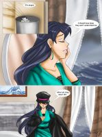 The Little Merman p I pg 3 by RedShootingStar