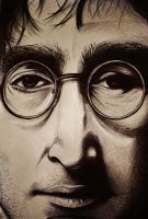 John Lennon by JamesFerrara
