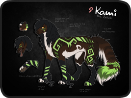 Kami Ref Sheet by Reneah