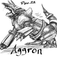 POKEDDEX Challenge - Dec 22 AGGRON by afrolady114
