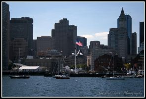 Boston Harbor by DarkestFear