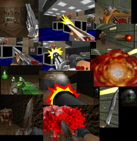 Serious Sam Weapons for Doom by T1migi