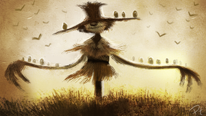 DAY 330. Scarecrows, yo by Cryptid-Creations