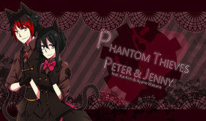 Phantom Thieves Peter and Jenny by TerrainAKKA
