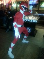 Mighty Morphin' Power Rangers Halloween costume! by shadowcast89