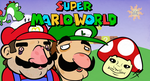 Super Mario World title card by Tricycloplots
