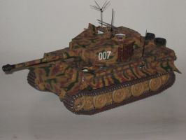 Wittmann's Last Tiger by LacheV