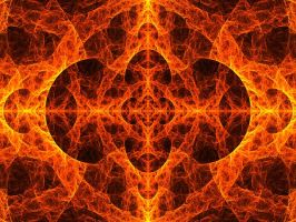 Blazing Symmetry by Animus-Ligatio