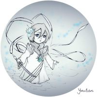 Rukia kawaii bankai by Youlien